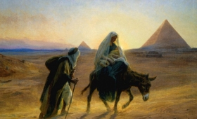 i udał się do Egiptu