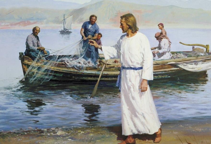 Pójdźcie za Mną, a uczynię was rybakami ludzi