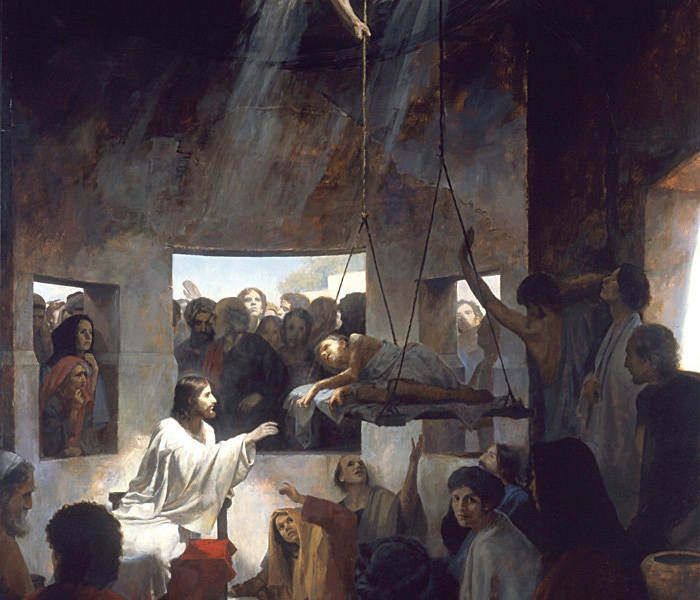 Jezus, widząc ich wiarę