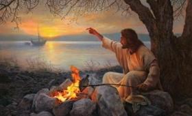 Jednakże uczniowie nie wiedzieli, że to był Jezus