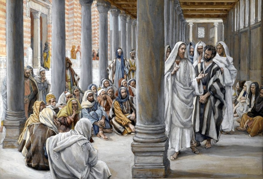 Czyny, których dokonuję w imię mojego Ojca, świadczą o Mnie