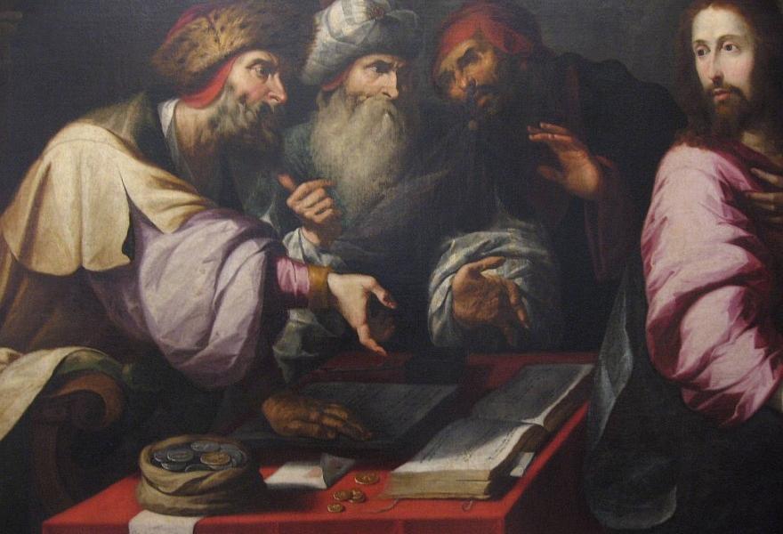 jada wspólnie z celnikami i grzesznikami