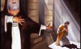 Faryzeusz stanął i tak w duszy się modlił