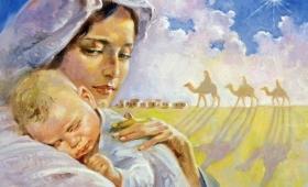 Weszli do domu i zobaczyli Dziecię z Matką Jego