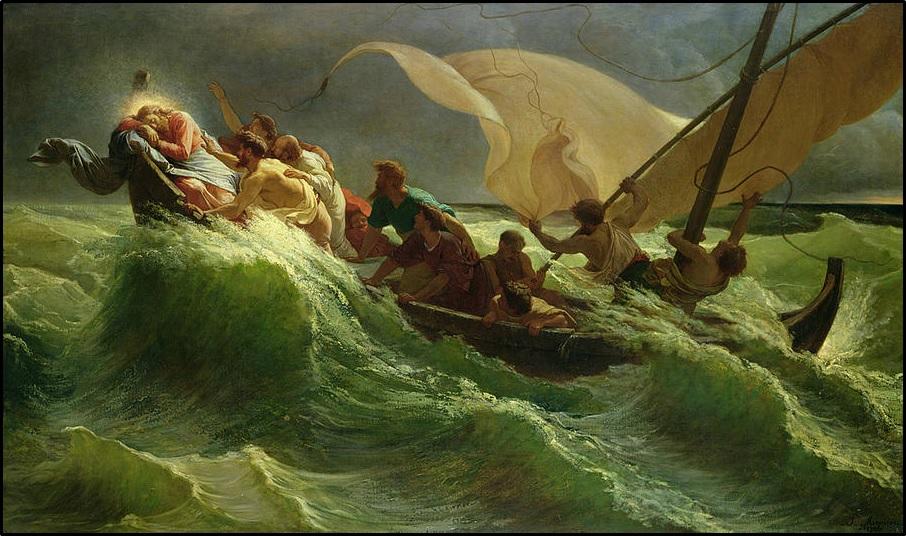 Zostawili więc tłum, a Jego zabrali, tak jak był w łodzi