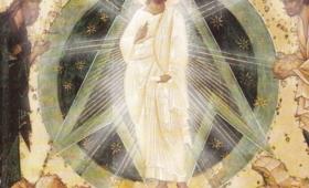Mt 17,2: twarz Jego zajaśniała jak słońce, odzienie zaś stało się białe jak światło