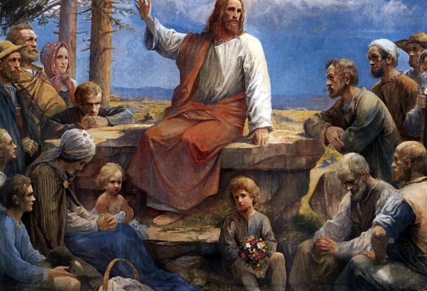 przyszli do Niego Jego Matka i bracia