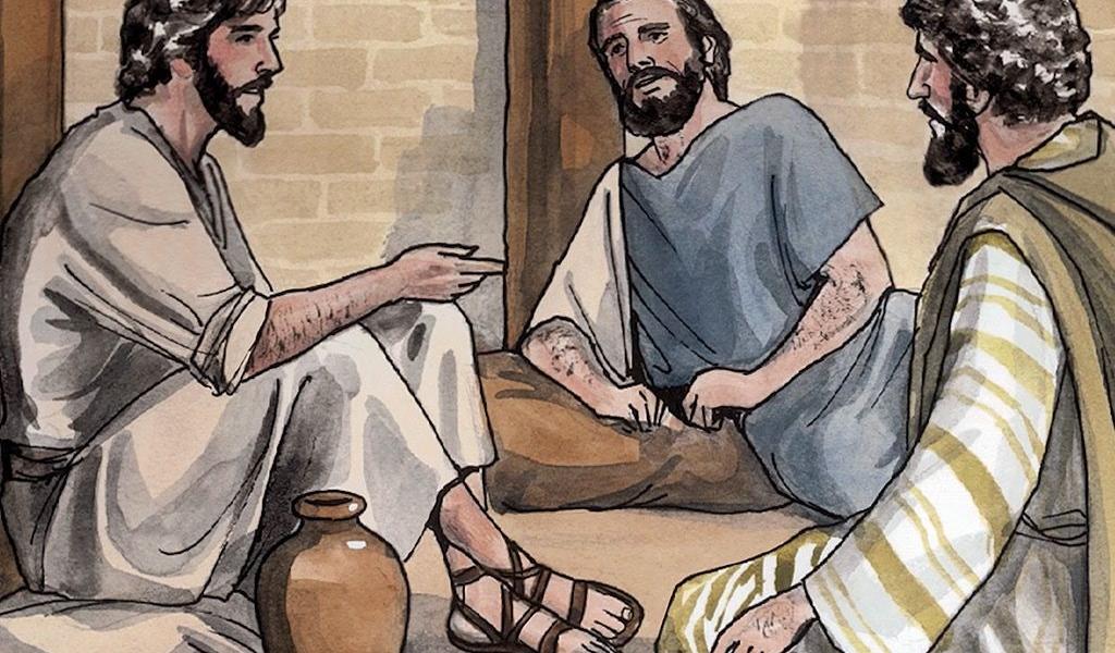 Poszli więc i zobaczyli, gdzie mieszka, i tego dnia pozostali u Niego
