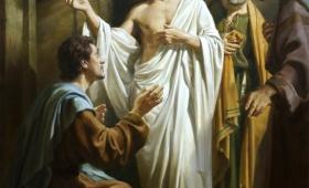 i Tomasz z nimi, Jezus przyszedł