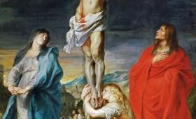 Kiedy więc Jezus ujrzał Matkę i stojącego obok Niej ucznia, którego miłował