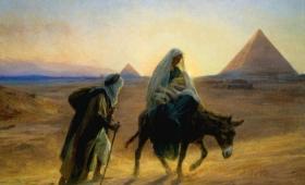 tam pozostał aż do śmierci Heroda