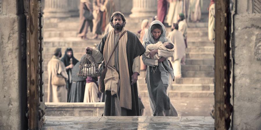 przynieśli Je do Jerozolimy, aby Je przedstawić Panu