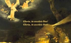 Chwała Bogu na wysokościach, a na ziemi pokój ludziom Jego upodobania