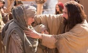 Jezus surowo mu przykazał…