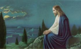 odszedł na górę, aby się modlić…