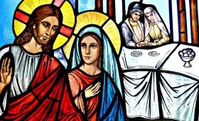 Matka Jezusa mówi do Niego…
