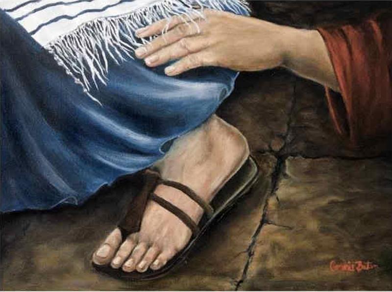 i prosili Go, żeby choć frędzli u Jego płaszcza mogli się dotknąć