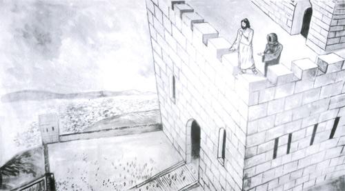 Jeśli jesteś Synem Bożym, rzuć się stąd w dół!