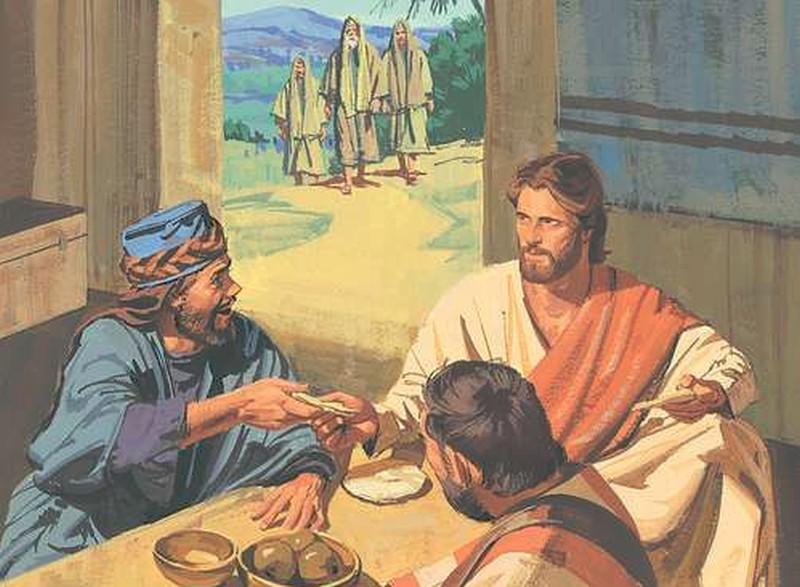 Zbliżali się do Niego… Na to szemrali…
