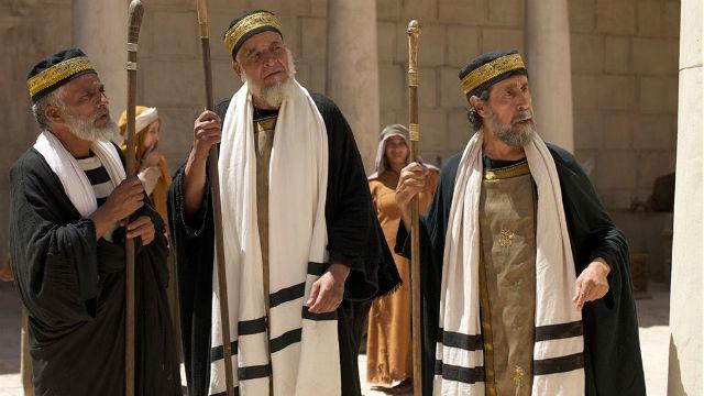 Lecz faryzeusze mówili…