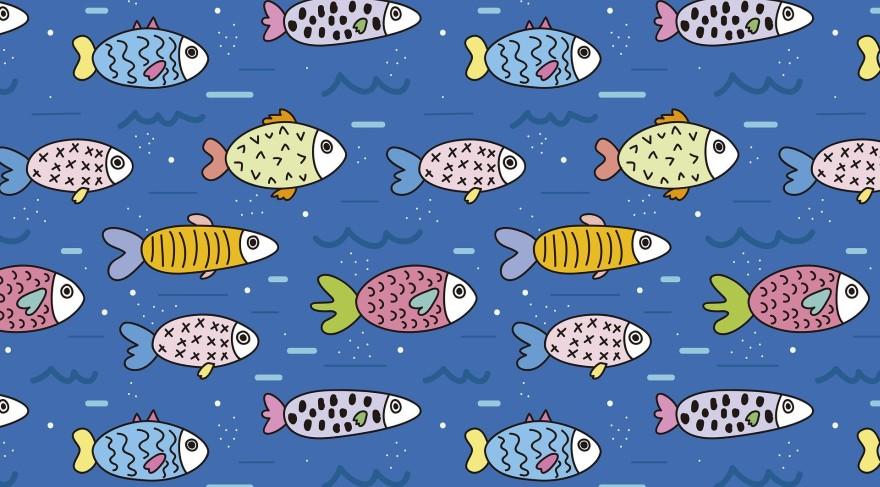 Pięć i dwie ryby