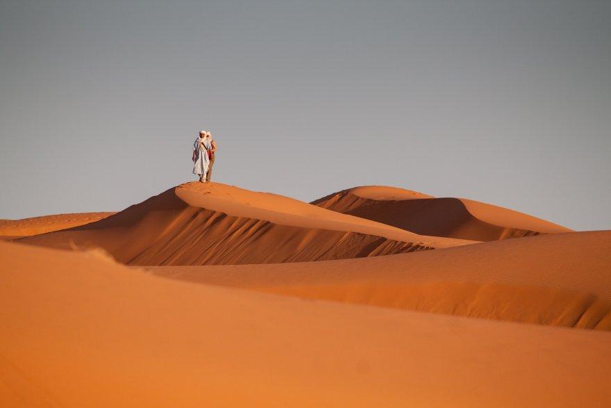 Duch wyprowadził Jezusa na pustynię