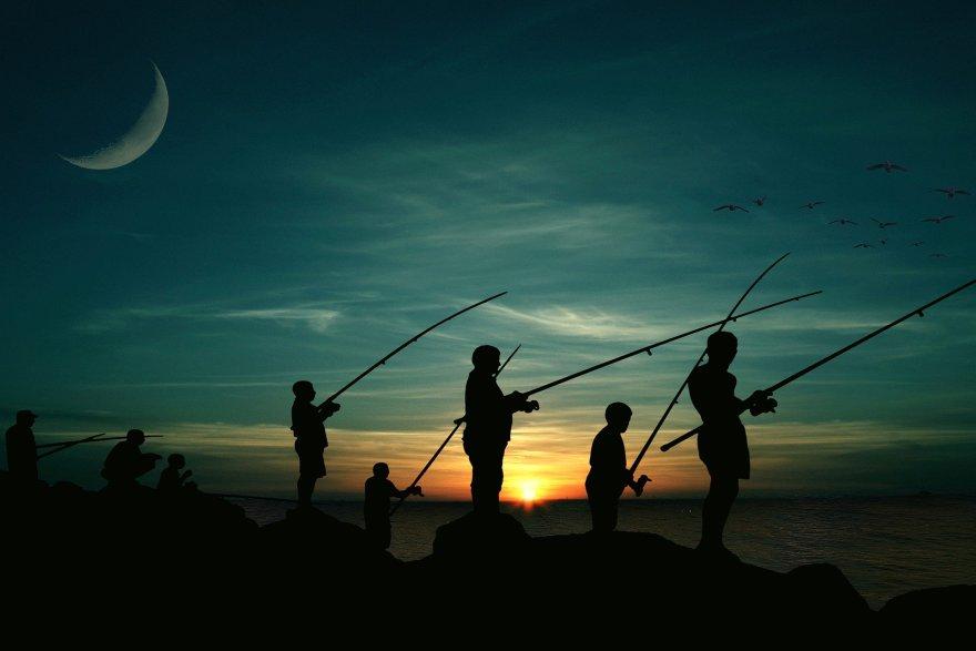Idę łowić ryby