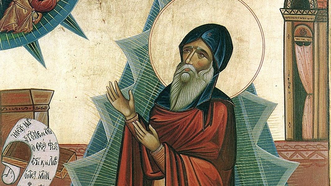 Był to człowiek sprawiedliwy i pobożny, wyczekujący pociechy Izraela
