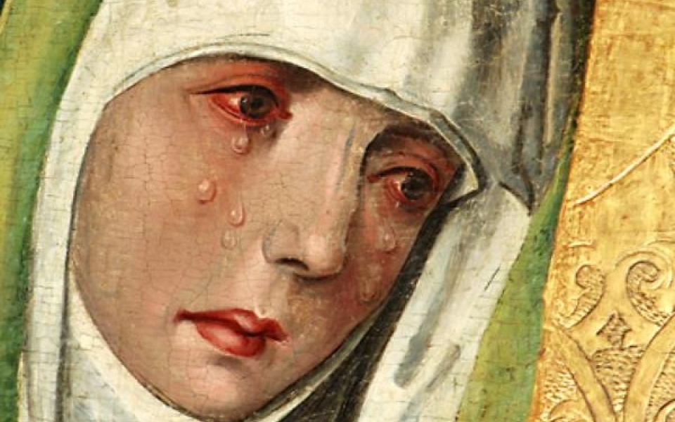A obok krzyża Jezusowego stała Matka